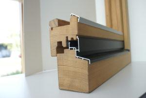Querschnitt Holzfenster
